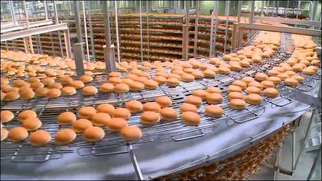 2 million hamburger buns a day!