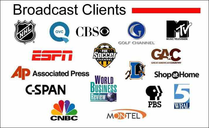 Eagle Video Productions Raleigh Broadcast-clients