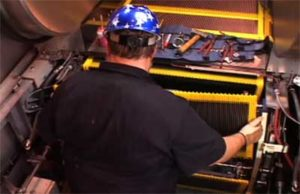 Schindler Escalator - Training video client of Eagle Video Productions Raleigh NC